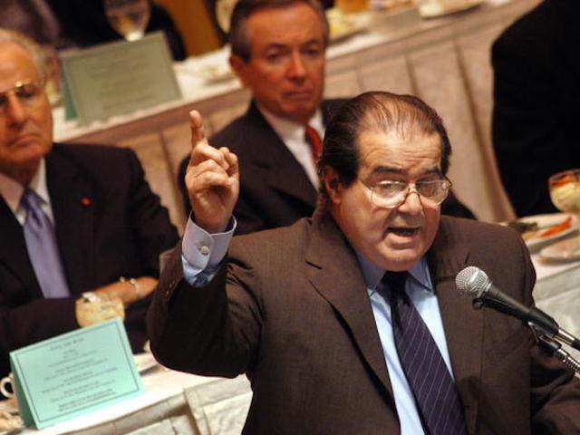 Supreme Court justice Antonin Scalia found dead