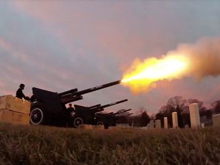 A brief history of the 21-gun salute