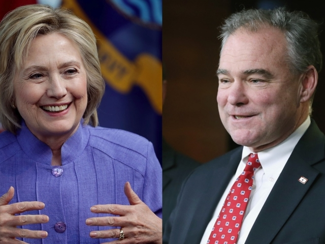 Tim Kaine's wife coming to Las Vegas to push early voting