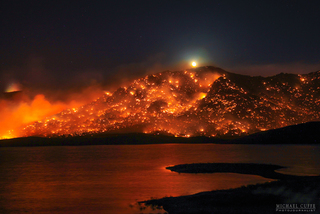 150 homes burned in deadly California wildfire
