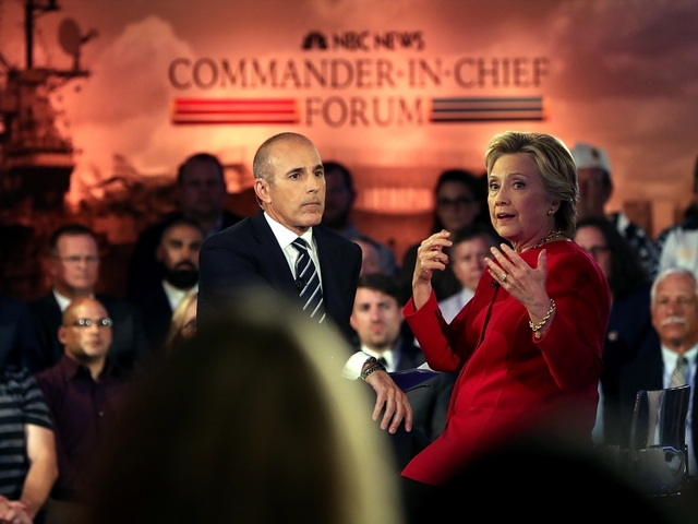 Truth Test: Trump, Clinton at the Commander-In-Chief Forum