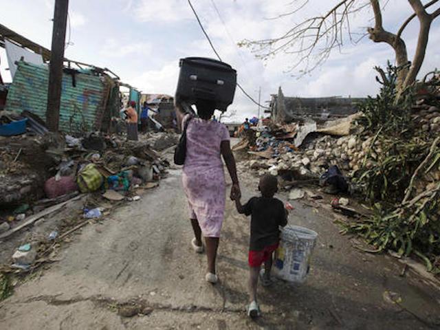 United Nations seeks $119 million for Haiti hurricane victims