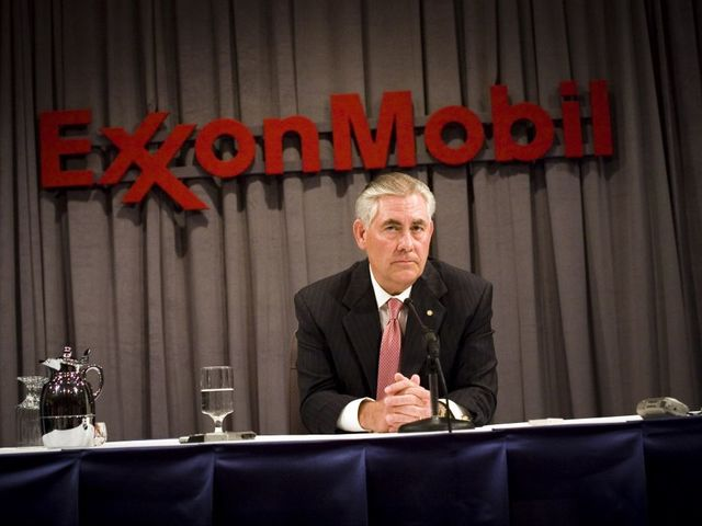 ExxonMobil weighs CEO transition after Trump's Rex Tillerson nomination