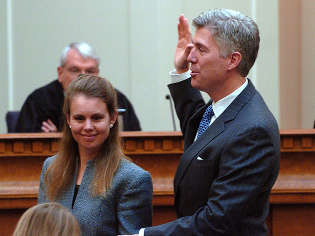 Neil Gorsuch pi... Judge Neil Gorsuch