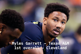 GALLERY: NFL Draft Picks 1-32