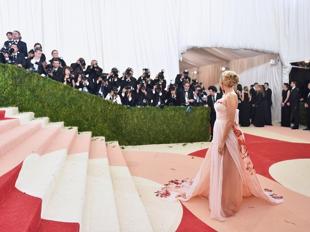 Did Katy Perry reveal new album title with Met Gala outfit?