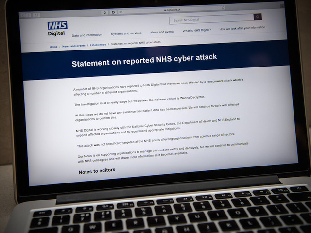 Hospital boss praises IT staff — NHS cyber attack