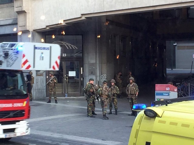 Police raid home of Brussels attack suspect