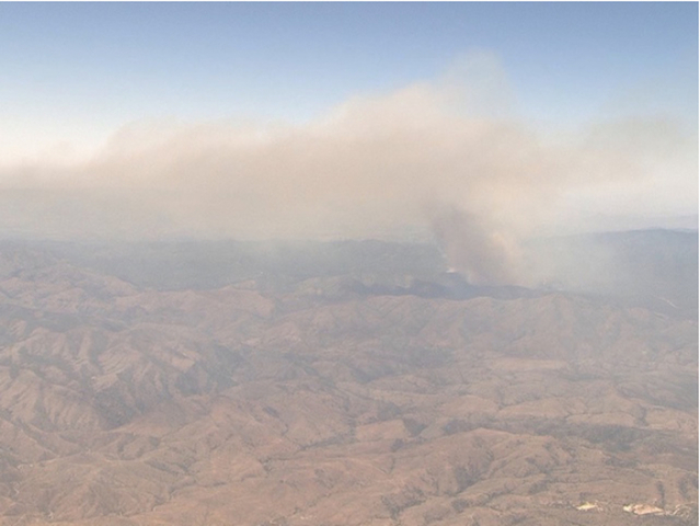 Evacuations ordered for town of Mayer for growing wildfire near Prescott