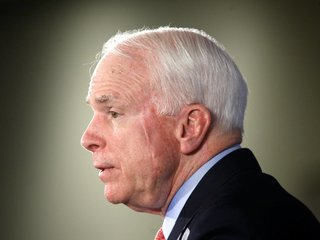McCain completes round of chemo, radiation