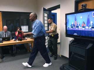 PHOTOS: OJ Simpson's July 2017 parole hearing