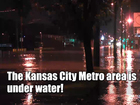 Half a foot of rain washes cars away in Missouri