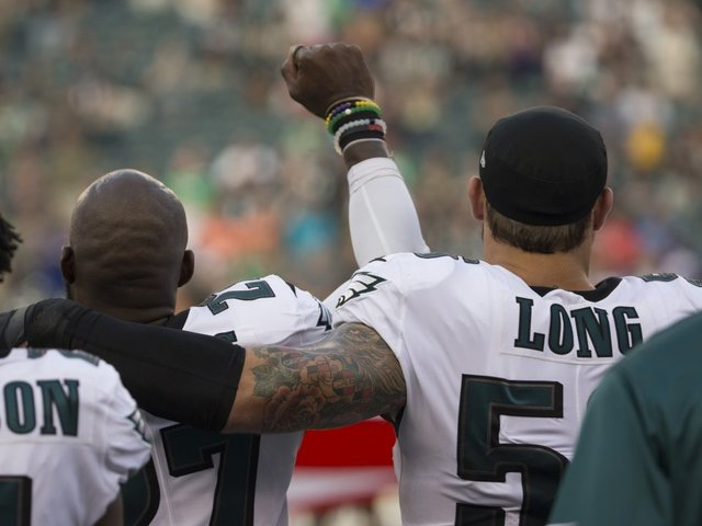 Chris Long: 'I'm Here To Show Support As A White Athlete'