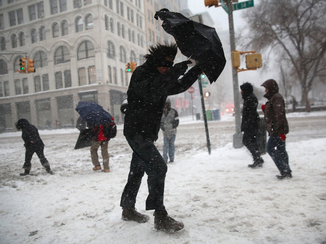 Second Winter Storm In A Week Heads To New York