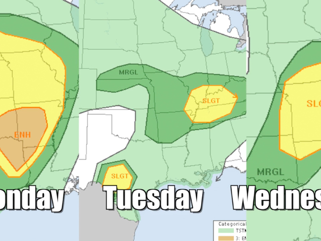 Severe Weather Marching Through U S This Week Nbc26