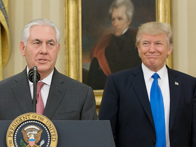 Trump poised to oust top diplomat Tillerson, says New York Times report