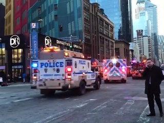 New York explosion: 3 hurt, 1 in custody