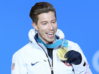 Olympian Shaun White pressed on harassment