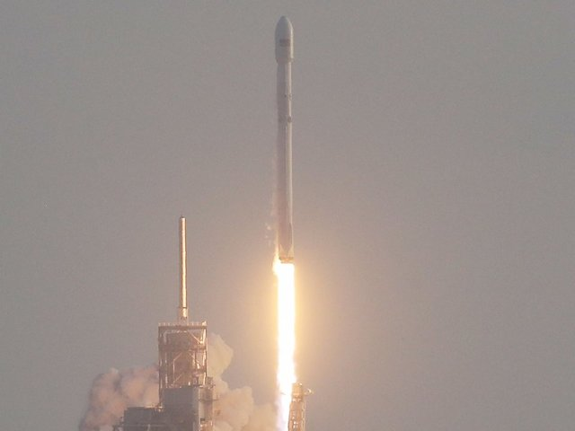 SpaceX Photos: PAZ, Internet Satellite Launch