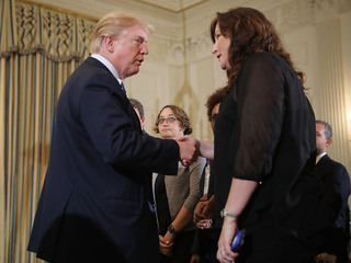 Trump meets with officials to talk school safety