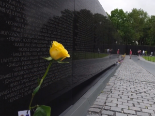Unexpected issue at Vietnam Memorial Wall