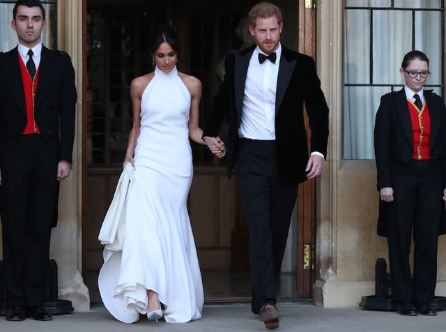 The Dress Meghan Markle Wore To The Second Royal Wedding Reception