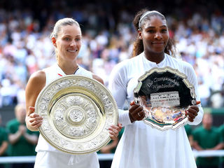 Kerber beats Williams to win 1st Wimbledon title