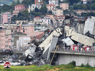 Bridge collapse in Italy: At least 35 dead